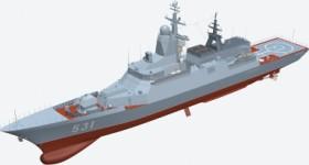 Российские фрегаты проекта 22350