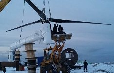 Ветродизельная электростанция для Арктики
