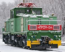 Модернизированный промышленный электровоз НПМ2