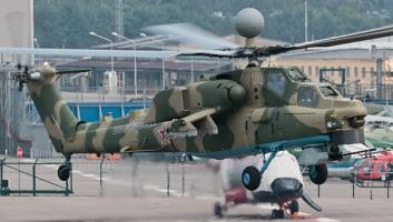 Модернизированный вертолет Ми-28НМ