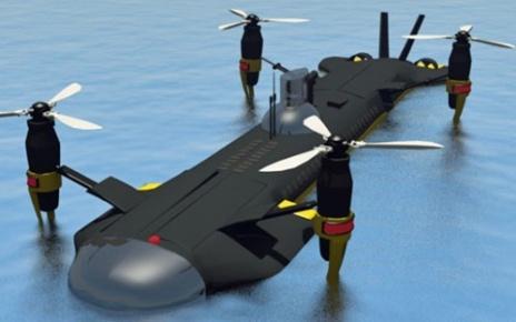 Беспилотная летающая субмарина SubMurres