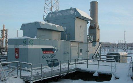 Газотурбинная электростанция Урал-2500