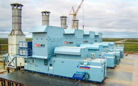 Газотурбинная электростанция Урал-6000