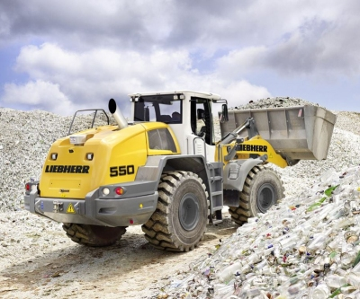 liebherr l550 wheel loader
