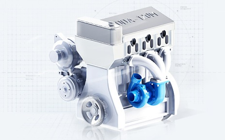 Двигатель ДДА-120М