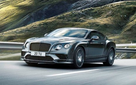 Bentley Continental Supersports articles