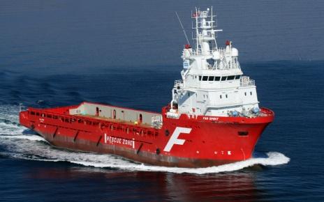 Судно снабжения морских буровых платформ