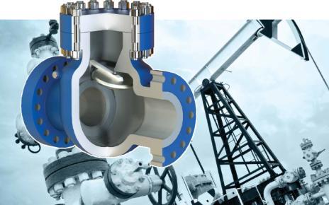 Клапаны обратные поворотные DN 15–600