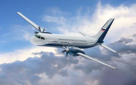 Ввод самолетов Ил-114