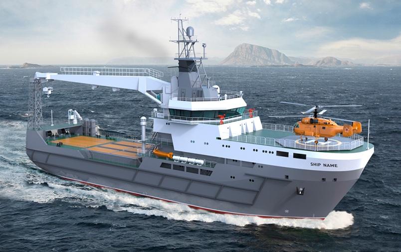 Морской транспорт вооружения Вымпел проект 20360M