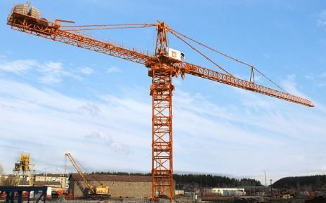 Верхнеповоротный башенный кран TDK-40_1250