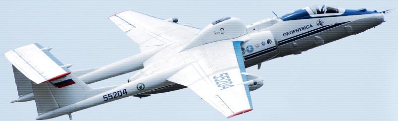 Самолет М-55 Геофизика