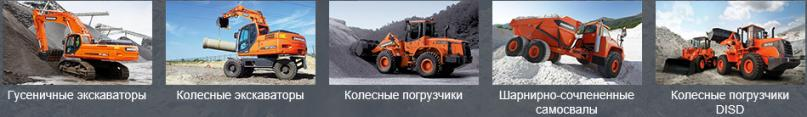 Doosan Infracore products