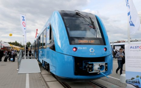 Поезд на водородном топливе Alstom Coradia iLint