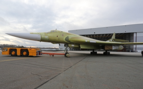 Выкатка Ту-160 на испытания