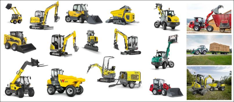 Wacker Neuson Group products