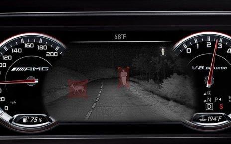 Обзорный прибор для автомобилей