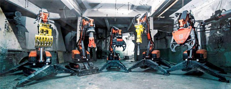 Husqvarna DXR robots
