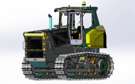 B9 bulldozer