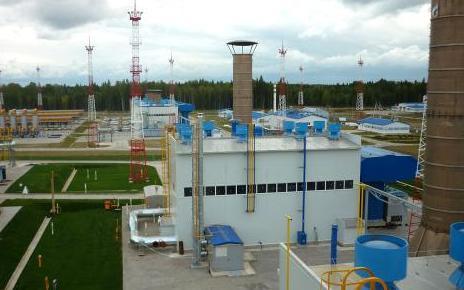 Compressor station Gryazovetskaya