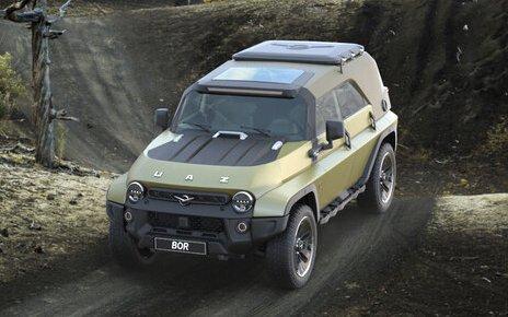 УАЗ-469 «Bor»