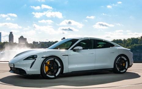 Премьера Porsche Taycan