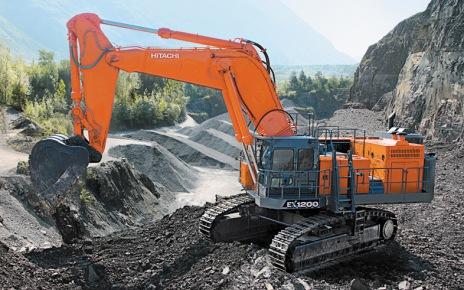 Mining Excavator Hitachi EX1200-7