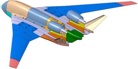 Летающее крыло ЦАГИ 01