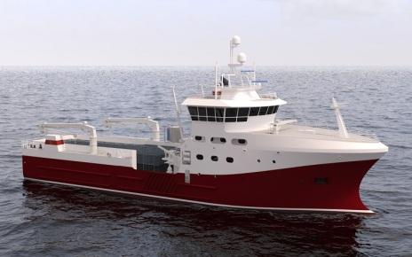 Краболовное судно проекта КСП01