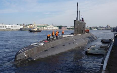 Submarine Volkhov