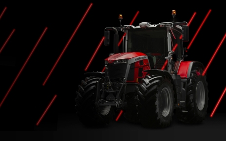 Massey Ferguson MF 8S Red