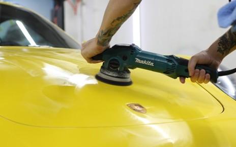 Механическая полировка автомобиля Koch24
