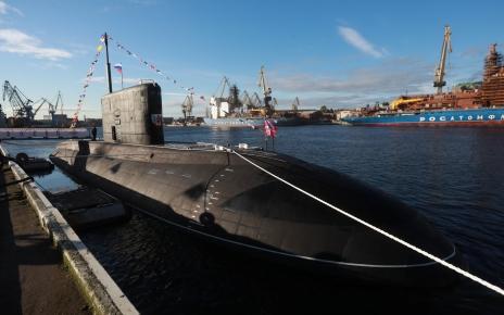 «Волхов» пополнила ВМФ России