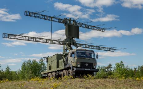 Мобильная РЛС П-18-2 Прима