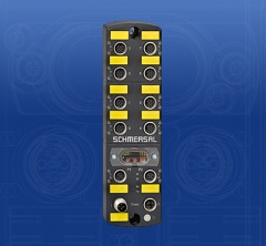 Schmersal Safety field box with PROFINET_PROFIsafe field bus interface