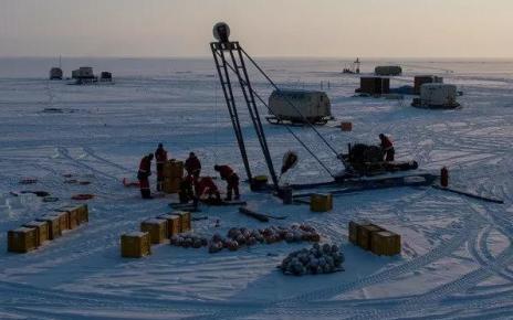 Запуск телескопа Baikal-GVD