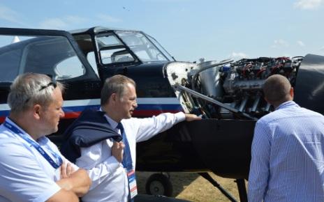 Авиационный поршневой двигатель АПД-500
