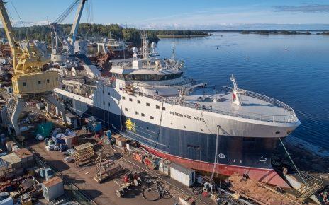 Trawler Norwegian Sea