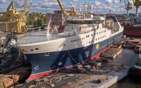 Trawler Norwegian Sea OSK
