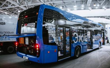 Водородный электробус КАМАЗ-6290 01