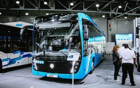 Водородный электробус КАМАЗ-6290