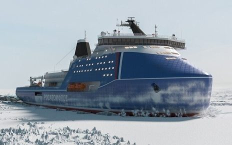 Nuclear icebreaker Project 10510 Leader
